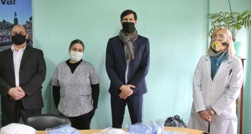 El Hospital M. Capredoni recibió una donación del Banco Galicia