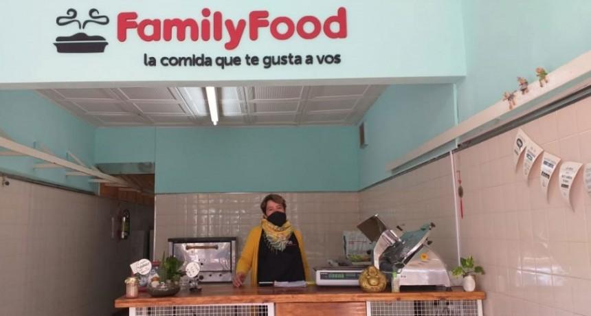Family Food abrió su nuevo local en Avenida Brown 529
