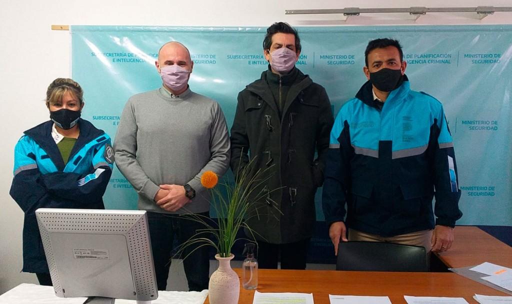 """Ariel Ferreyra: """"Estamos anunciando la finalización del trámite para la creación  de la Sección Pericial Descentralizada de Policía Científica en Bolívar"""""""