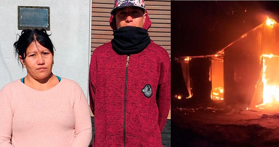 """Sandra Ellis: """"Mi nuera tenía una vela al lado de la cama, con el viento cayó y agarró fuego hasta quemarse todo"""""""