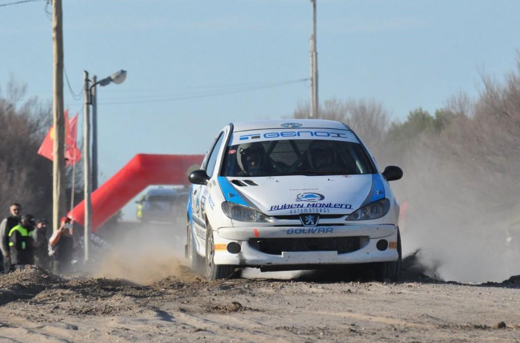 El binomio Jorge Porcaro-Juan Pedro Porcaro clasificaron terceros en la N-3 en el Rally de Claromecó