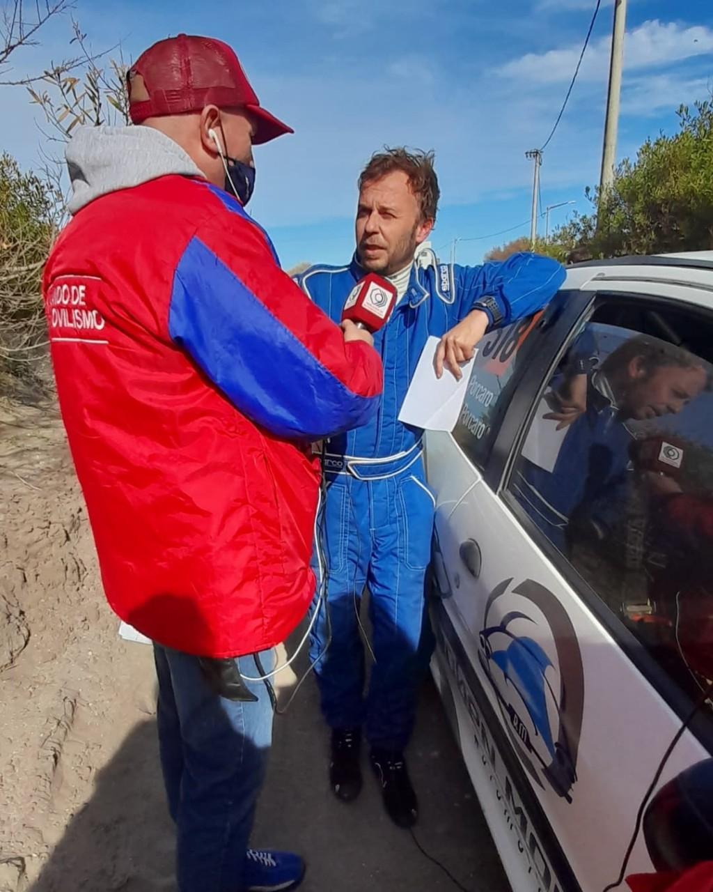Gran tarea del binomio Porcaro-Porcaro en el Rally Bonaerense de Claromecó