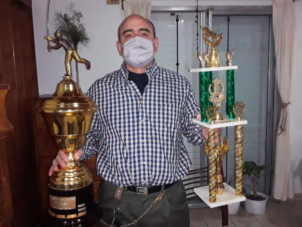 Matías Cuadrado, campeón del torneo