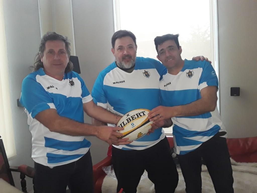 Di Mayo, Cortizas y Ortíz reflotan  el equipo de Rugby de la Vucetich