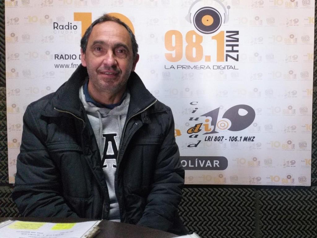 Luciano Carballo; 'Tengo la esperanza que vamos a volver a la normalidad prontamente'