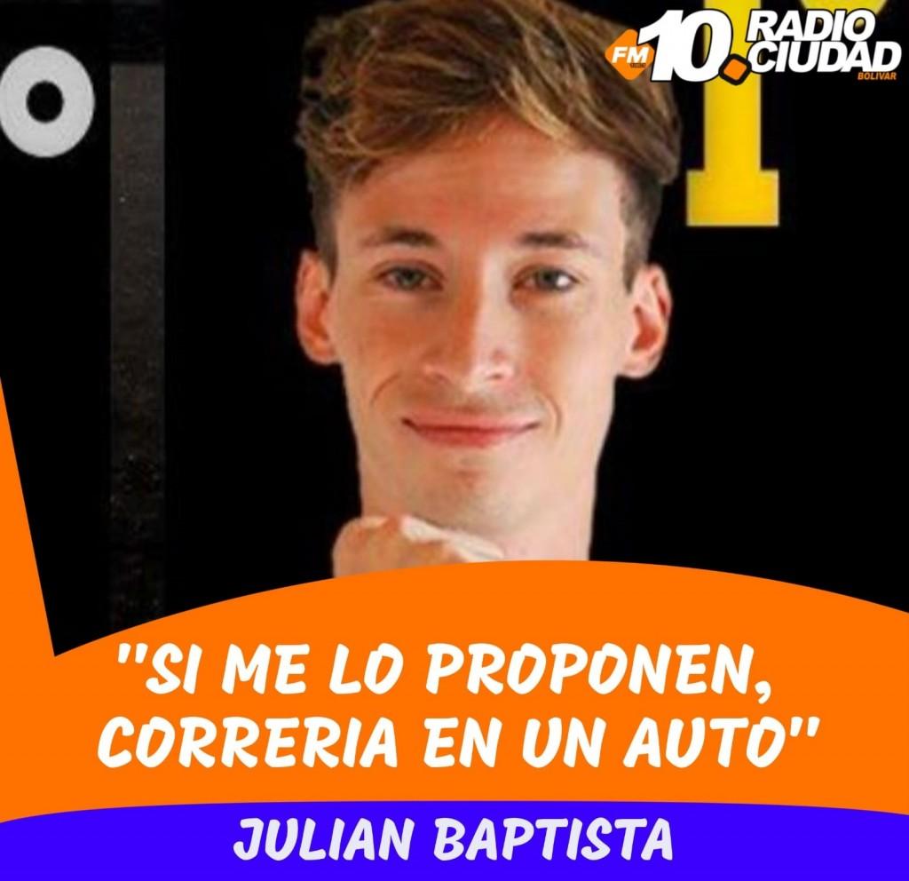 Automovilismo Virtual: Julián baptista contó cómo vive la experiencia