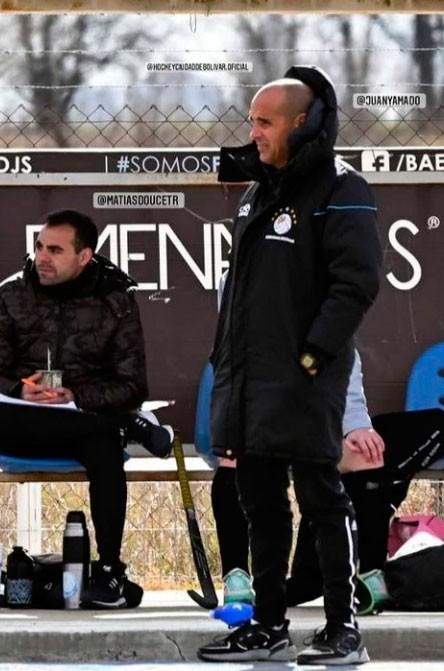 """Juani Amado: """"Pudimos jugar al hockey, pudimos volver a encontrarnos un sábado en el club"""""""