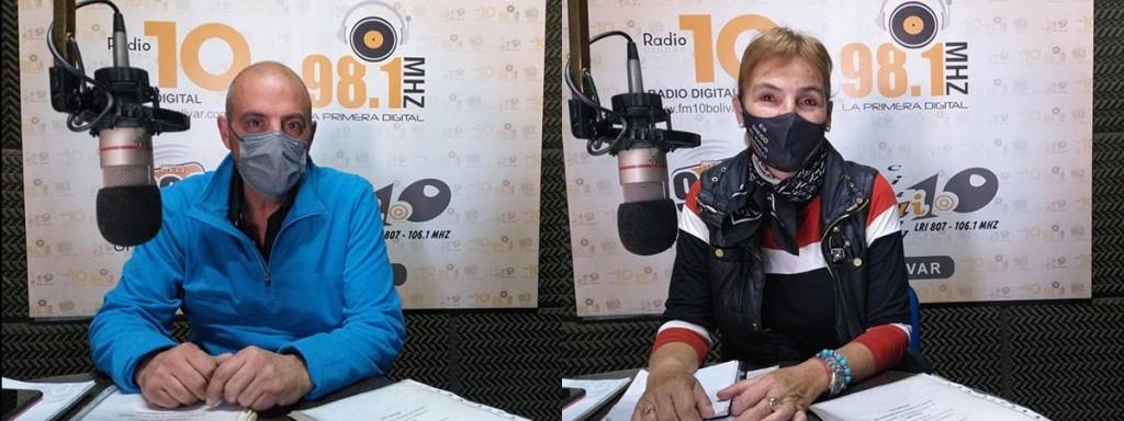 María Cristina Quíbus y Ariel Alomar:  'La gente tiene necesidad de ser escuchada, de ser entendida y de tener acompañamiento, fundamentalmente del Estado'