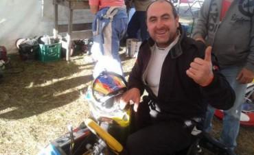 Karting en Laprida : Contundente triunfo de Marcos Pando