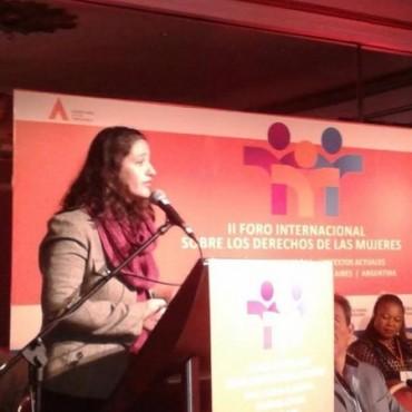 Bolívar presente en el II Foro Internacional sobre los Derechos de las Mujeres