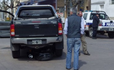 Un joven herido a raíz de un accidente