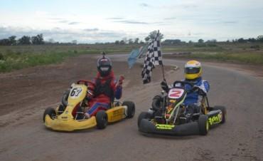 Karting : Santiago Fuentes y Emanuel Ruiz hicieron el
