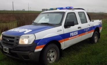 Fuerte operativo policial