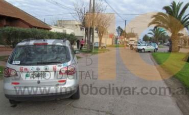Fabrés García y Las Heras: Violenta colisión derivó en una mujer hospitalizada