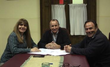 Sardiña, Santos, Morán y Erreca acompañaron a Criado este jueves en el Comité de la UCR