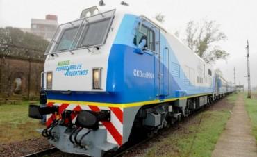 Olavarría: Se realizó la última prueba con el nuevo tren antes de su puesta en marcha
