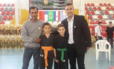 Karate: Un bolivarense en lo más alto en Morón