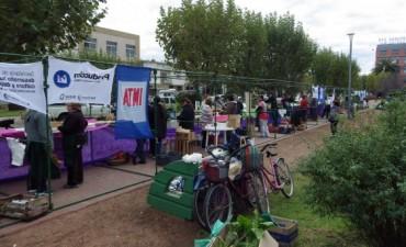 Feria Verde y artesanos acompañarán la inauguración del Centro Cívico