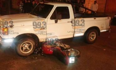 Accidente de Tránsito: Un joven fue trasladado a Bolívar