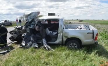 Violento accidente en la Ruta 51 en cercanías de Olavarría: un muerto y un herido