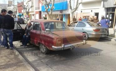 Nuevamente accidente en avenida San Martín; peatón hospitalizado