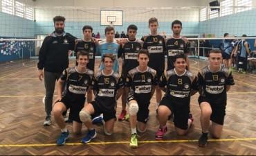 Vóley Divisiones Formativas Club Ciudad: El Sub 13 fue campeón y el sub 17 subcampeón