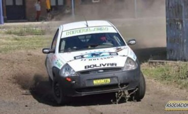 Dos bolivarenses debutaron en el Rally Federal