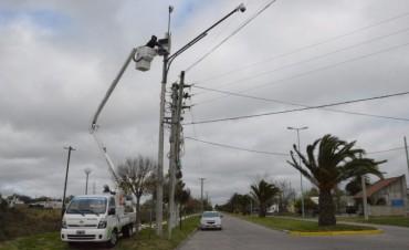 La Municipalidad trabaja en el mantenimiento de las cámaras en la vía pública