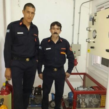 Bomberos Voluntarios incorporó un nuevo equipo a su equipamiento