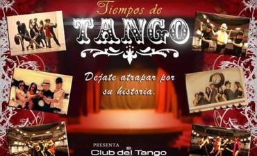 Este sábado 1 de octubre: Tiempos de Tango en el Teatro Coliseo Español