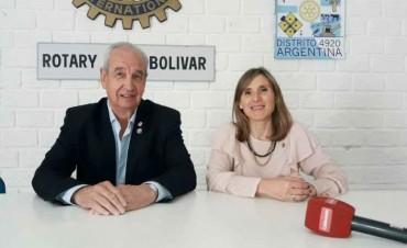 Rotary Club Bolívar: Hoy visita la ciudad el Gobernador