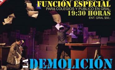 El Mangrullo: Hoy es la última presentación de 'La Demolición'