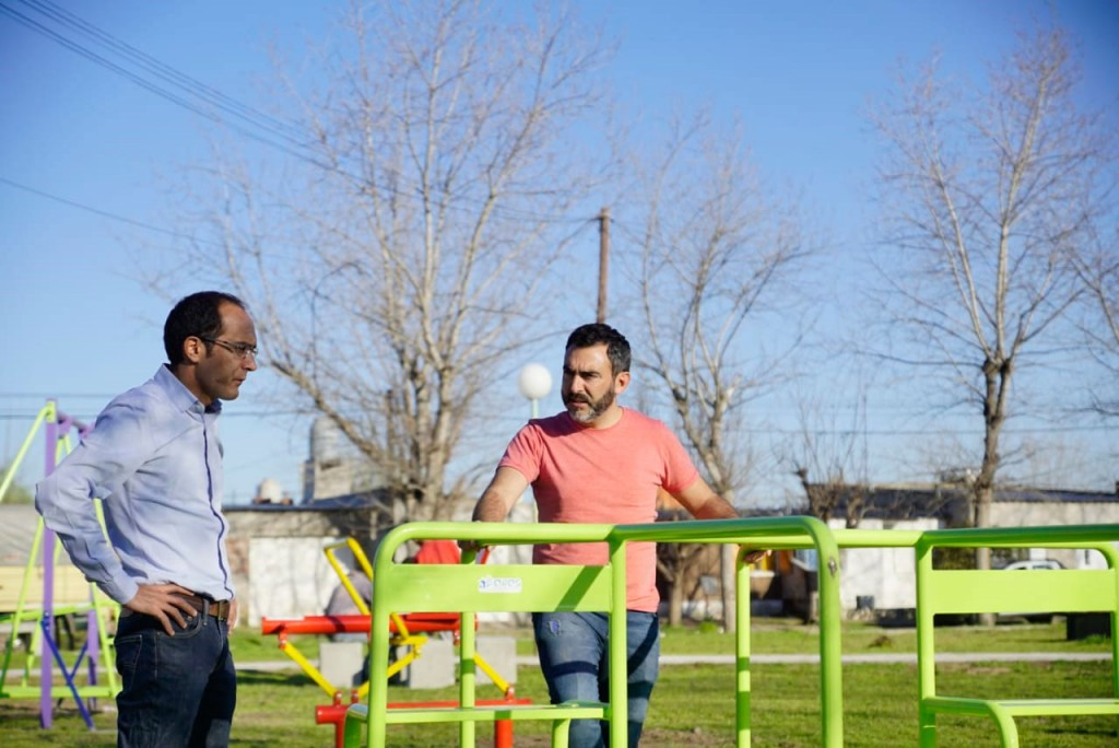 Marcos Pisano: 'Son tiempos donde estar cerca de cada vecino nos da energías para seguir trabajando'