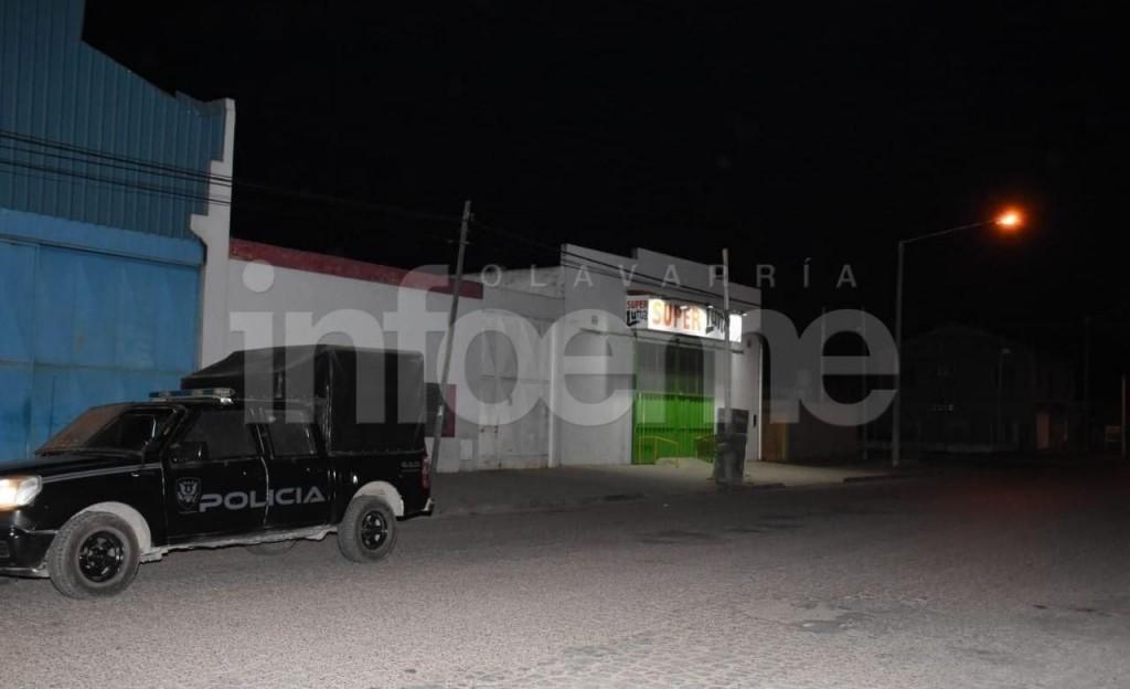 Olavarría: Operativo y tensión por intento de saqueo en un Supermercado Chino