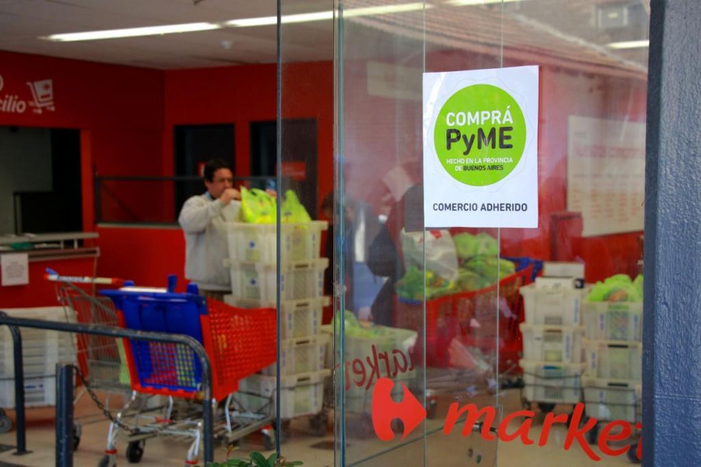 Ya hay 400 productos de PyMEs bonaerenses en las góndolas de más de 500 sucursales de supermercados