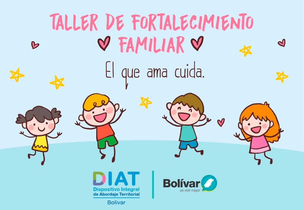 Se dictará un taller de fortalecimiento familiar en el DIAT
