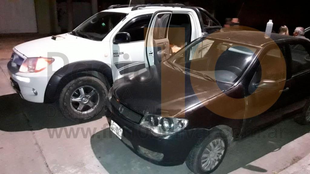Leve impacto entre 3 vehículos en calle Falucho: Sin heridos