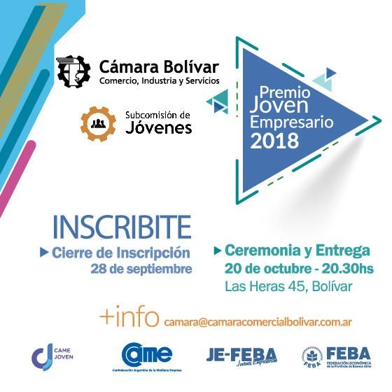 Premio Joven Empresario - edición 2018