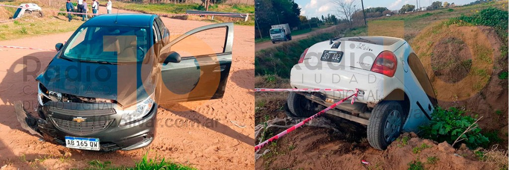 Violento impacto en la intersección de Pasquali y De Lucia
