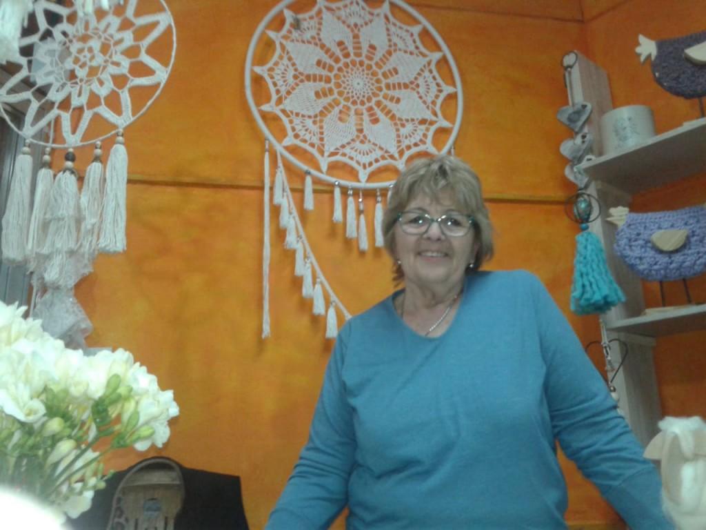 Ilda Rode y sus artesanías están presentes en la 90º Edición de la Expo Rural