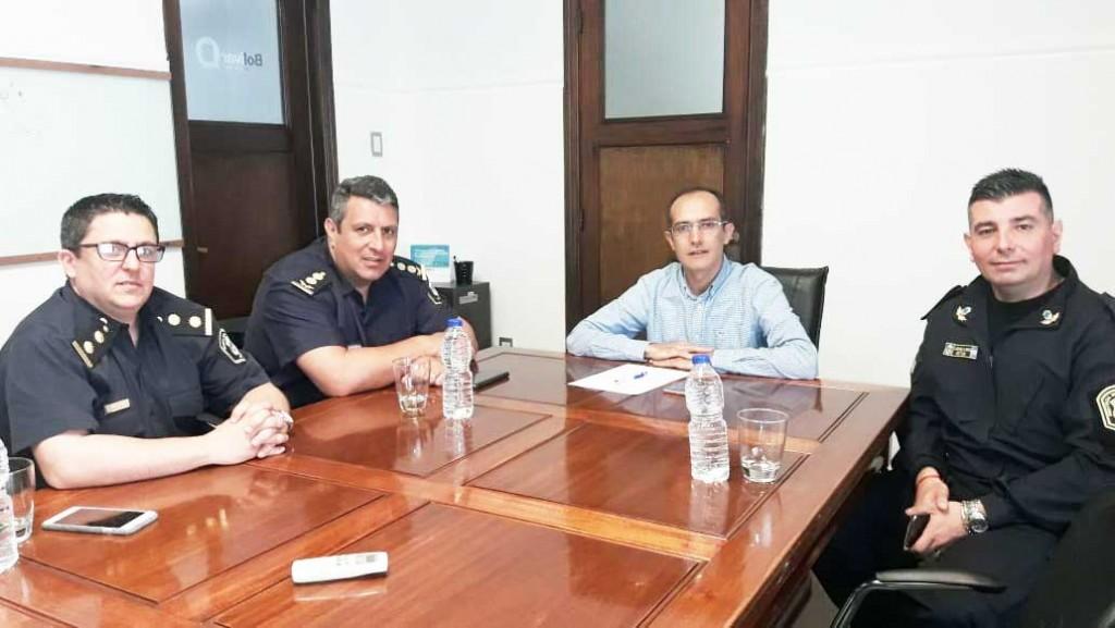 Bolívar tiene un nuevo Jefe Distrital: Se trata del Comisario Marcelo Álvarez