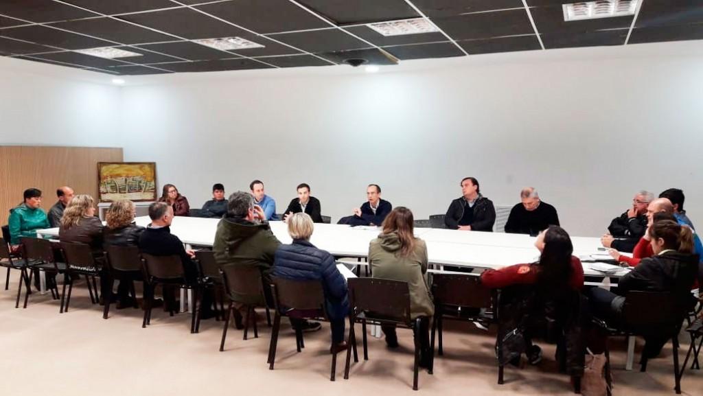 Marcos Pisano puso en marcha el Consejo Económico y Social