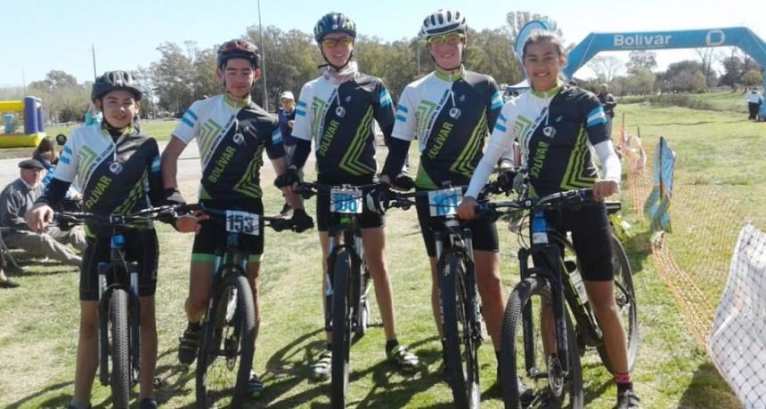 5 ciclistas bolivarenses clasificaron a la final provincial de los juegos bonaerenses