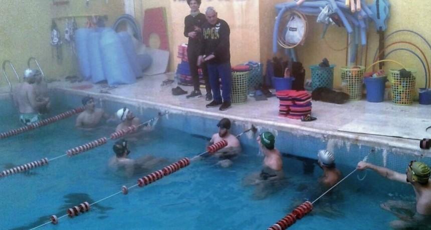Natación y yoga, en la preparación de UPCN