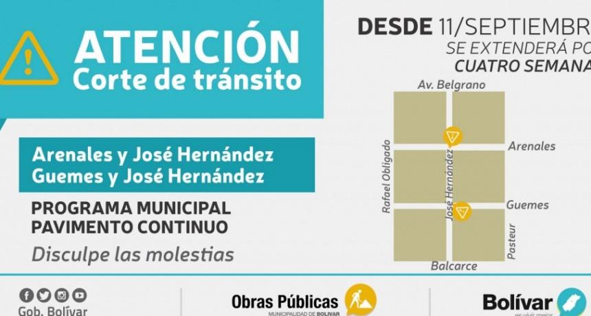 La municipalidad continúa con la urbanización de los barrios de la ciudad