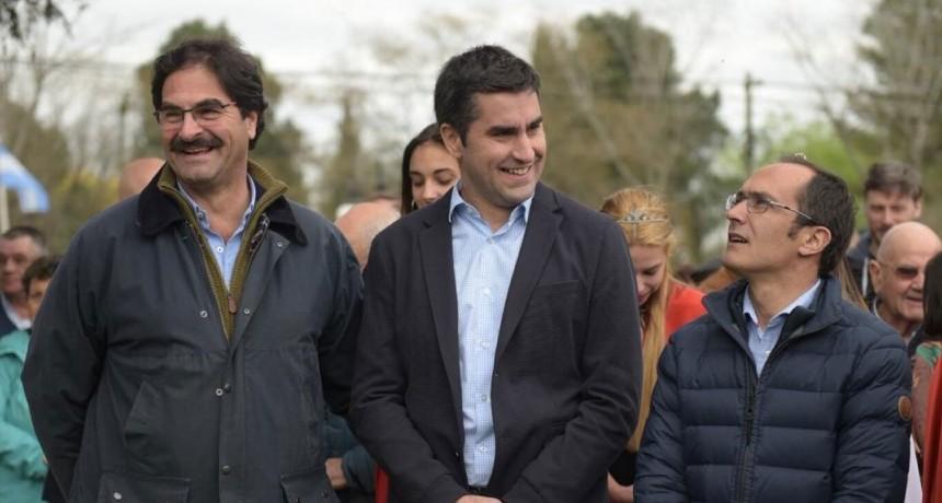 Manuel Mosca estuvo presente en la inauguración de la Expo Rural 2018