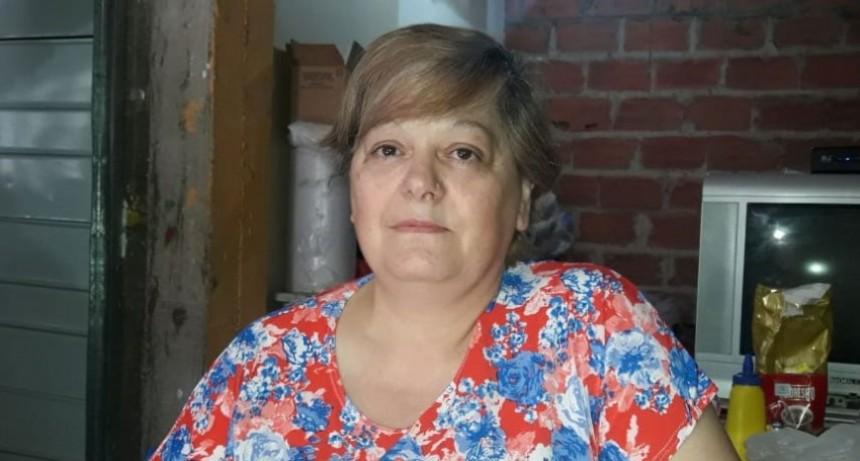 Expresión publica: Cristina Rusillo de Lopez hizo uso de este derecho