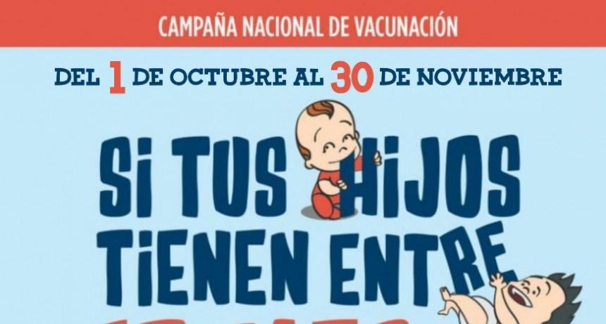 Se vacunará gratuitamente contra el sarampión y la rubeola