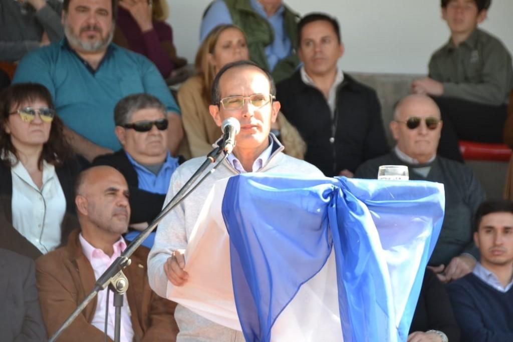 Inauguración de la Expo Bolívar: Marcos Pisano sostuvo que hay que seguir abonando el diálogo entre las instituciones y el Municipio