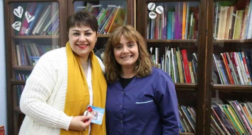 La Municipalidad saludó a las bibliotecarias en su día